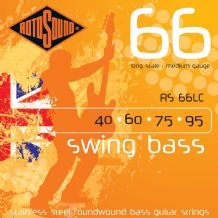 Rotosound RS66LC Swing Bass Long Scale Medium Gauge Strings
